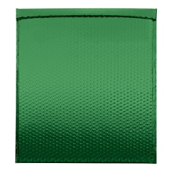 """Office Depot® Brand Glamour Bubble Mailers, 22-1/2""""H x 19""""W x 3/16""""D, Green, Pack Of 48 Mailers"""