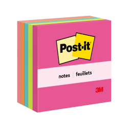 "Post-it® Notes, 3"" x 3"", Cape Town, Pack Of 5 Pads"