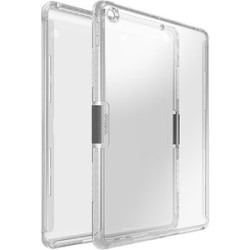 OtterBox iPad (7th gen) Symmetry Series Clear Case - For Apple iPad (7th Generation) Tablet - Micro Texture - Clear - Drop Resistant, Scratch Resistant, Scuff Resistant - Polycarbonate, Nylon, Rubber