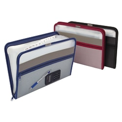 Office Depot® Expanding File, 13 Pockets, Letter Size, Assorted Colors (No Color Choice)
