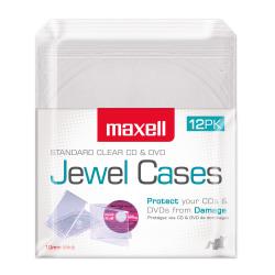 Maxell CD/DVD Jewel Cases CD-360
