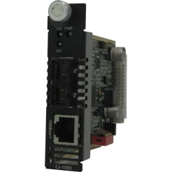 Perle C-1000-M2SC05 Gigabit Ethernet Media Converter Module - 1 x Network (RJ-45) - 1 x SC Ports - 10/100/1000Base-T, 1000Base-SX - Internal