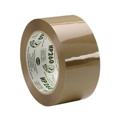 "Duck HP260 Commercial High Performance Tape - 1.88"" Width x 60 yd Length - 3"" Core - 3.10 mil - Acrylic Backing - Non-yellowing - 1 Roll - Tan"