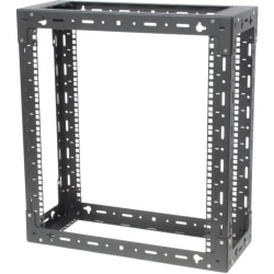 Innovation 119-1755 Wall Mount Rack Frame - 9U Rack Height - Black