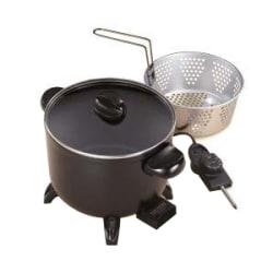 Presto 06006 Multi Cooker & Steamer, Black