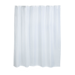 """Honey-Can-Do Fabric Shower Curtain Liner, 72"""" x 70"""", White"""