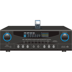 PyleHome PT4601AIU AM/FM Receiver - 400 W RMS - 2 Channel - 800 W PMPO - AM, FM - USB - iPod Supported