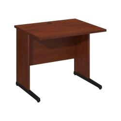 """Bush Business Furniture Components Elite C Leg Desk 36""""W x 30""""D, Hansen Cherry, Standard Delivery"""