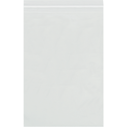 """Office Depot Brand 8 Mil Reclosable Poly Bags 3"""" x 5"""", Box of 1000"""