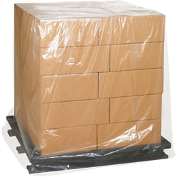 """Office Depot® Brand Pallet Covers, 68""""H x 65""""W x 82""""D, Clear, Roll Of 25"""