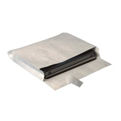 "Quality Park® Tyvek® Grip-Seal® Expansion Envelopes, Open Side, 10"" x 15"" x 2"", White, Box Of 100"