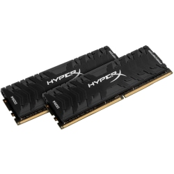 Kingston HyperX Predator 16GB (2 x 8GB) DDR4 SDRAM Memory Kit - 16 GB (2 x 8 GB) - DDR4-2666/PC4-21300 DDR4 SDRAM - 2666 MHz - CL13 - 1.35 V - Non-ECC - Unbuffered - 288-pin - DIMM