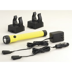 Streamlight® PolyStinger® LED Haz-Lo® Rechargeable Flashlight, Yellow