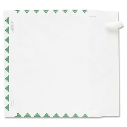 """Quality Park Tyvek Expansion First Class Envelopes - First Class Mail - 10"""" Width x 15"""" Length - 2"""" Gusset - 18 lb - Peel & Seal - Tyvek - 100 / Carton - White"""