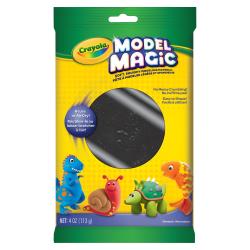 Model Magic Clay Modeling Material, 4 Oz, Black