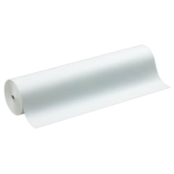 """Sparco Art Project Paper Roll, 36"""" x 1000', 50% Recycled, White"""