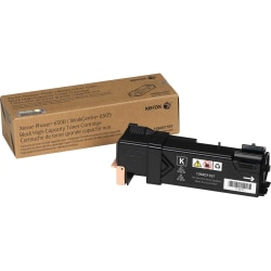 Xerox® Phaser™ 6500 High-Yield Black Toner Cartridge (XER106R01597)