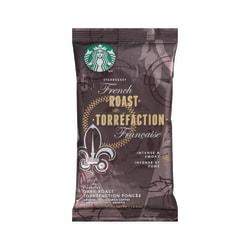 Starbucks® French Roast Ground Coffee, 2.5 Oz, Box Of 18 Packets