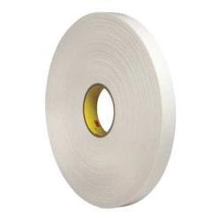 """3M® 4462 Double Sided Foam Tape, 1"""" x 5 Yd., White"""