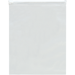 """Office Depot Brand 3 Mil Slide-Seal Reclosable Poly Bags 10"""" x 13"""", Box of 100"""