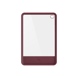 OtterBox Statement iPad mini 4 Case - For Apple iPad mini 4 Tablet - Lucent Maroon - Drop Resistant, Scratch Resistant - Genuine Leather