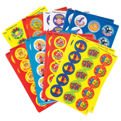 Trend® Stinky Stickers, Praise Words Variety, Pack Of 435