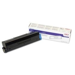 OKI® 43502001 Type 9 Black High-Yield Toner Cartridge
