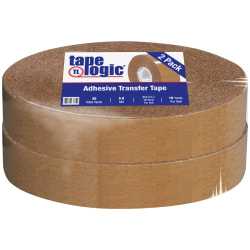 "Partners Brand Industrial Heavy-Duty Adhesive Transfer Tape 3/4"" x 18 yds., 2 Rolls Per Case"