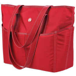 "Mobile Edge Sumo Large Travel Tote - 14.25"" x 17"" x 7"" - Nylon - Red"