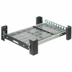 "Innovation 28"" Heavy Duty Sliding Rack Mount Shelf"