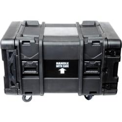 "Rack Solutions 8U, 29"" Deep - Transport Case Rack - 29"" Depth - 400 lb - Stackable - Plastic - For Audio Equipment, Video Equipment, Ethernet Switch, Server"