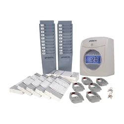 uPunch™ UB2000 Electronic Calculating Punch Card Time Clock Bundle