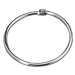 "OIC® Loose-Leaf Book Rings, 2"" Diameter, Box Of 50"