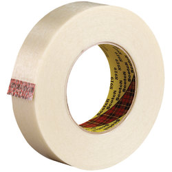 """Scotch® 8919 Strapping Tape, 3"""" Core, 1"""" x 60 Yd., Clear, Case Of 12"""
