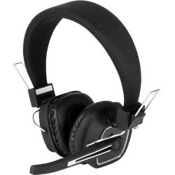 Aluratek Bluetooth Wireless Stereo Headset with Boom Microphone and Bluetooth Dongle - Stereo - Mini-phone (3.5mm) - Wired/Wireless - Bluetooth - 33 ft - 200 Hz - 20 kHz - Over-the-head - Binaural - Circumaural