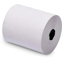 """NCR Receipt Paper - 3"""" x 150 ft - 50 / Carton - White"""