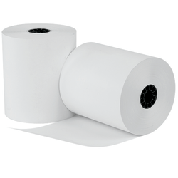 """uAccept™ POS Thermal Paper, 3 1/8""""W x 220'L, 1-Ply, White, Pack Of 50"""