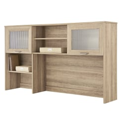 "Realspace® Magellan 58""W Hutch For Corner/L-Desk, Blonde Ash"