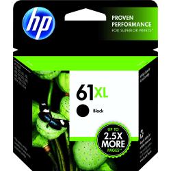 HP 61XL High-Yield Black Ink Cartridge (CH563WN)
