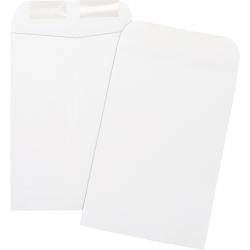 "Business Source Durable Open-End Catalog Envelopes - Catalog - #1 3/4 - 6 1/2"" Width x 9 1/2"" Length - 24 lb - Gummed - Wove - 500 / Box - White"