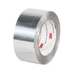"""3M™ 425 Aluminum Foil Tape, 2"""" x 5 Yd., Silver"""