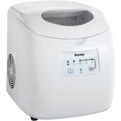 Silhouette Ice Maker - 25 lb Per Day - 2 lb - White