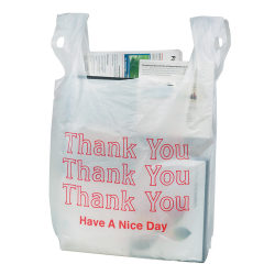 "Office Depot® Brand ""Thank You"" Bags, Box Of 150"