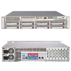 Supermicro A+ Server 2021M-82R+V Barebone System - nVIDIA MCP55 Pro - Socket F (1207) - Opteron (Dual-core), Opteron (Quad-core) - 1000MHz Bus Speed - 64GB Memory Support - DVD-Reader (DVD-ROM) - Gigabit Ethernet - 2U Rack