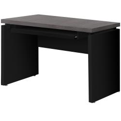 "Monarch Specialties Selene 48""W Computer Desk, Black/Gray"