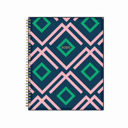 "Blue Sky™ Dabney Lee Weekly/Monthly Planner, 8-1/2"" x 11"", Ginnie, January 2020 to December 2020"