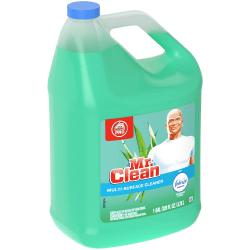 Mr. Clean® Home Pro Liquid All-Purpose Cleaner, Febreze® Meadows And Rain Scent, 128 Oz Bottle