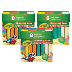 Crayola® Modeling Clays, 2 Lb, Assorted Colors, Pack Of 3 Boxes