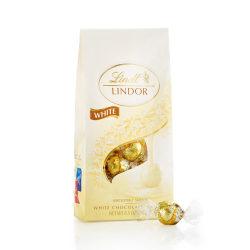 Lindor Chocolate Truffles, White Chocolate, 8.5 Oz, Pack Of 2 Bags