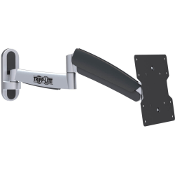 "Tripp Lite Display TV Wall Monitor Mount Arm Swivel/Tilt 17"" to 42"" TVs / Monitors / Flat-Screens - 44 lb Load Capacity - Metal, Rubber - Black"""